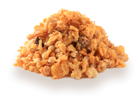 Crunchy onion chunks